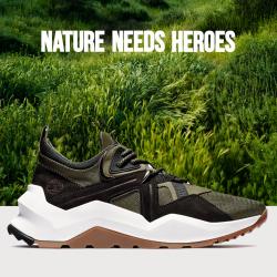 #NatureNeedsHeroes #Timberland