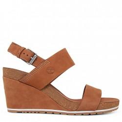 Дамски сандали Capri Sunset Wedge Sandal for Women in Light Brown