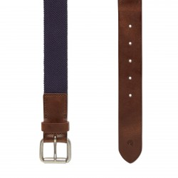 Мъжки колан Canvas Stretch Belt for Men in Navy