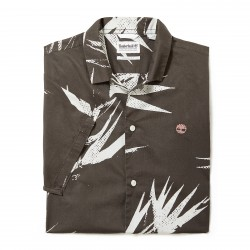 Мъжка риза Suncook River Print Shirt for Men in Dark Green