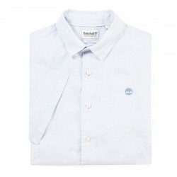 Мъжка риза Mill River Linen Shirt for Men in Light Blue