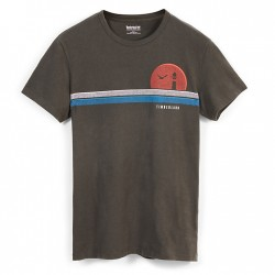 Мъжка тениска Kennebec River Retro T-Shirt for Men in Grey