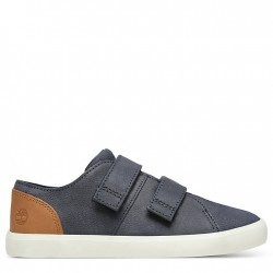 Детски обувки Newport Bay Leather Trainer for Youth in Navy