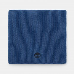 Мъжки шал Ribbed Scarf for Men in Teal