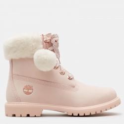 Дамски боти 6 Inch Shearling Boot for Women in Pink