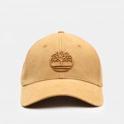 Мъжка шапка Corduroy Baseball Cap for Men in Yellow