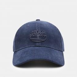 Мъжка шапка Corduroy Baseball Cap for Men in Blue