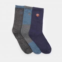 Мъжки чорапи Three Pair Socks Gift Box for Men in Black