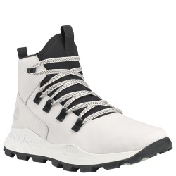 Мъжки обувки Brooklyn Alpine Chukka for Men in White Nubuck with Black