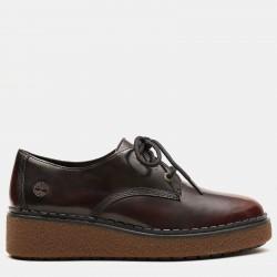 Дамски обувки Bluebell Lane Derby for Women in Burgundy