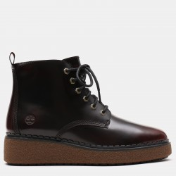 Дамски обувки Bluebell Lane Lace Up Boot for Women in Burgundy