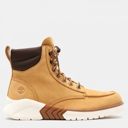 Мъжки обувки MTCR Mocassin Toe Boot for Men in Yellow Nubuck