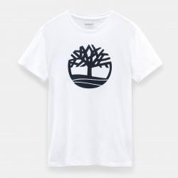 Мъжка тениска Kennebec River Tree T-shirt for Men in White