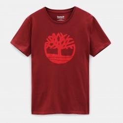 Мъжка тениска Kennebec River Tree T-shirt for Men in Red
