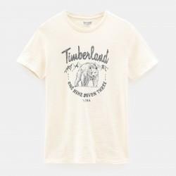 Мъжка тениска Bear Family T-Shirt for Men in Beige