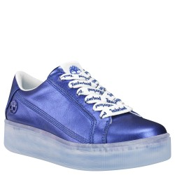 Дамски обувки Marblesea Leather Sneaker in Dark Blue Metallic