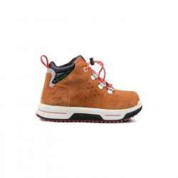 Детски обувки TIMBERLAND CITY STOMPER MID WP BROWN