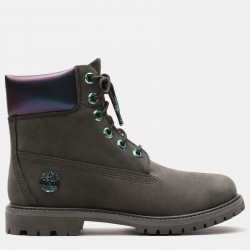Дамски боти 6 Inch Iridescent Premium Boot for Women in Dark Green