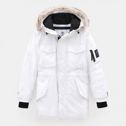 Мъжко яке Nordic Edge Expedition Parka for Men in White
