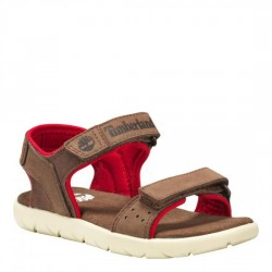 Детски сандали Nubble Sandal Lthr L/F Dark Brown
