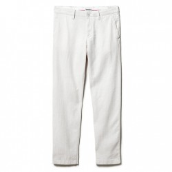 Мъжки панталон Squam Lake Linen Chinos for Men in Light Grey