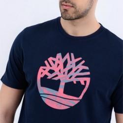 Мъжка тениска Men's Kennebec River Pattern Tree Tee Navy