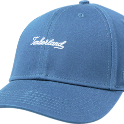 Мъжка шапка Timberland® Script Baseball Cap for Men in Blue
