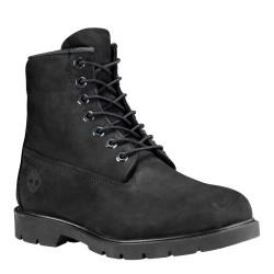 Мъжки обувки Timberland 6 in Basic Boot-noncontrast collar Wp Black Nubuck