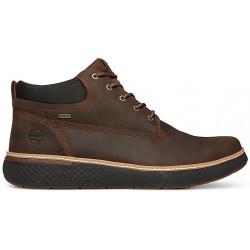 Мъжки боти Timberland Cross Mark GTX Gore-Tex Chukka Dark Brown Leather Mens Boots