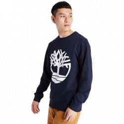 Мъжко горнище Core Tree Logo Sweatshirt for Men in Navy