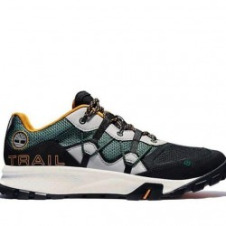 Мъжки обувки Men's Garrison Trail Hiking Sneakers Dark Green Mesh Black