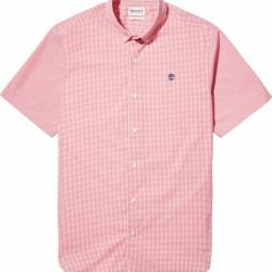 Мъжка риза Suncook River Micro-gingham Shirt For Men In Pink