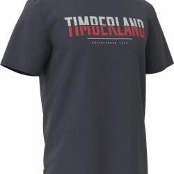 Мъжка тениска SS LINEAR LOGO TWO TECHNIQUES CREW TEE in Dark Sapphire