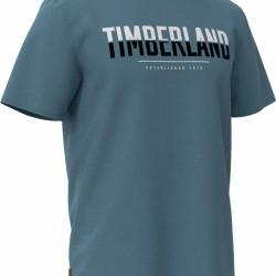 Мъжка тениска SS LINEAR LOGO TWO TECHNIQUES CREW TEE in Blue