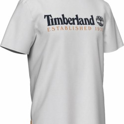 Мъжка тениска SS OUTDOOR HERITAGE LINEAR LOGO TEE in White