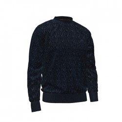 Мъжки пуловер LIGHTWEIGHT WASHED CABLE SWEATER in Dark Saphire