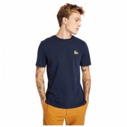 Мъжка тениска SS BOOT LOGO TEE in Dark Saphire