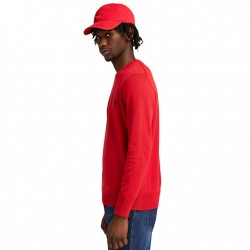 Мъжки пуловер Williams River Organic Cotton Sweater for Men in Red