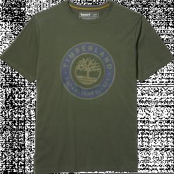 Мъжка тениска Little Cold River T-Shirt for Men in Green