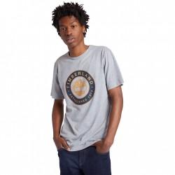 Мъжка тениска Little Cold River T-Shirt for Men in Grey