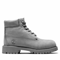 Детски боти Timberland® Premium 6 Inch Boot for Youth in Grey