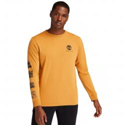 Мъжка тениска с дълъг ръкав Men's Wind, Water, Earth & Sky™ Long-Sleeve T-Shirt in Yellow