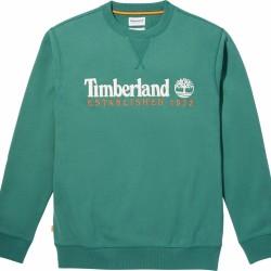 Мъжко горнище Timberland Men's Heritage Est. 1973 Crew Sweatshirt in Green