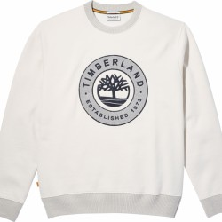 Мъжко горнище Little Cold River Sweatshirt for Men in White