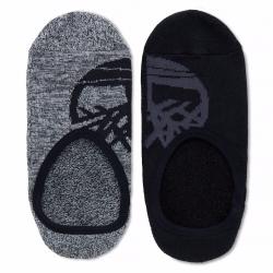 Мъжки чорапи Canvas Shoe Liner 2 Pairs