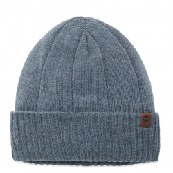 Мъжка шапка Heathered Ribbed Beanie Grey