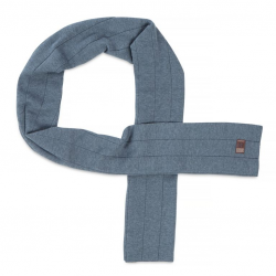 Мъжки шал Heathered Ribbed Scarf Grey