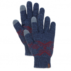 Мъжки ръкавици Fair Isle Gloves Night Blue