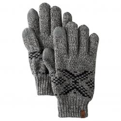 Мъжки ръкавици Fair Isle Gloves Charcoal