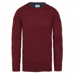 Мъжки пуловер Jones Brook Crew Jumper Red Fleck